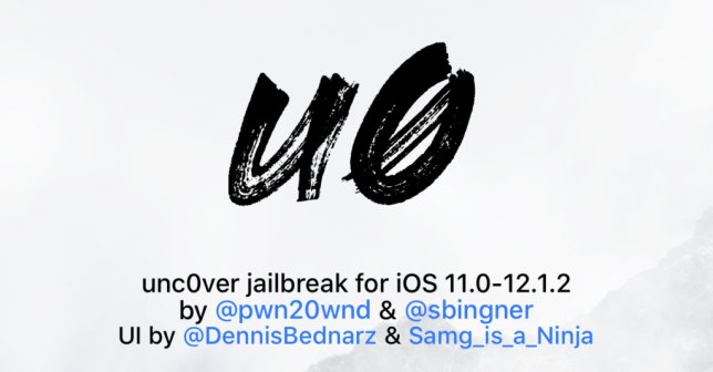download unc0ver 3 iphone ios 12 jailbreak