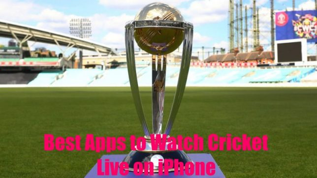 How to watch live cricket world cup on iPhone with best app