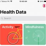 move health data from one iPhone/apple watch to another