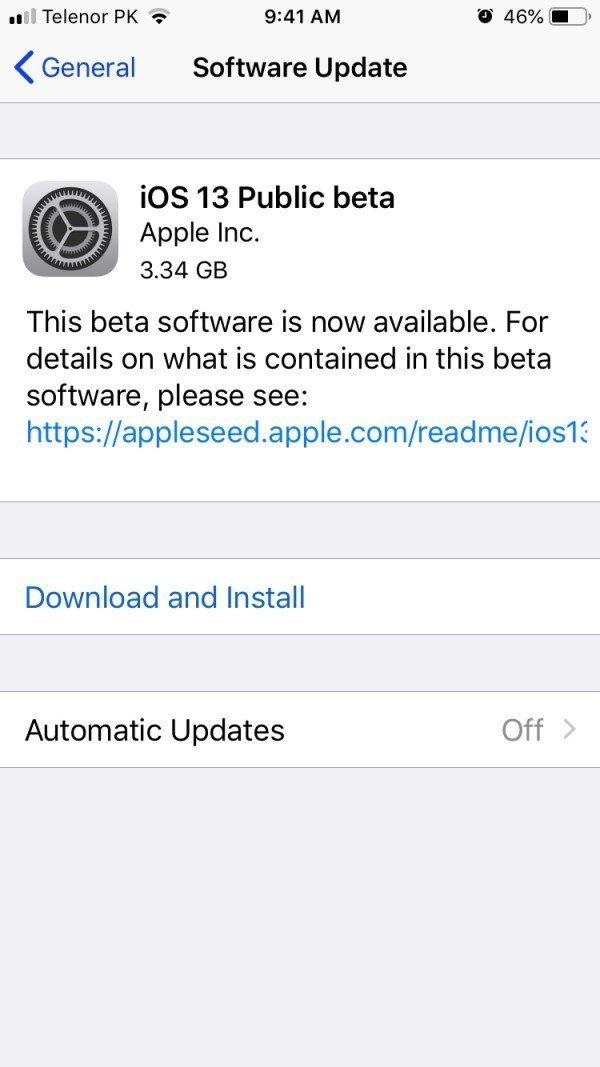 How to Install iOS 13 iPadOS 13